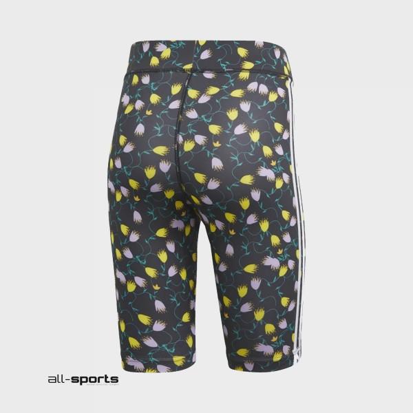 Adidas Originals 3-Stripes Allover Print TIghts Floral
