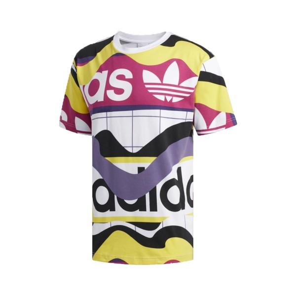 Adidas Originals Catalog Print Tee T-Shirt Multicolor