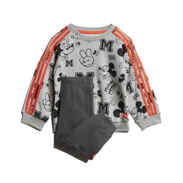 Adidas Mickey Mouse Jogger Set Grey