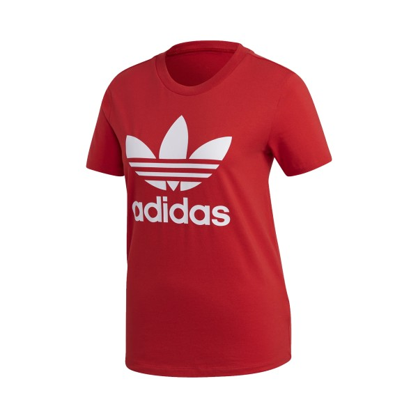 Adidas Originals Trefoil Tee Red