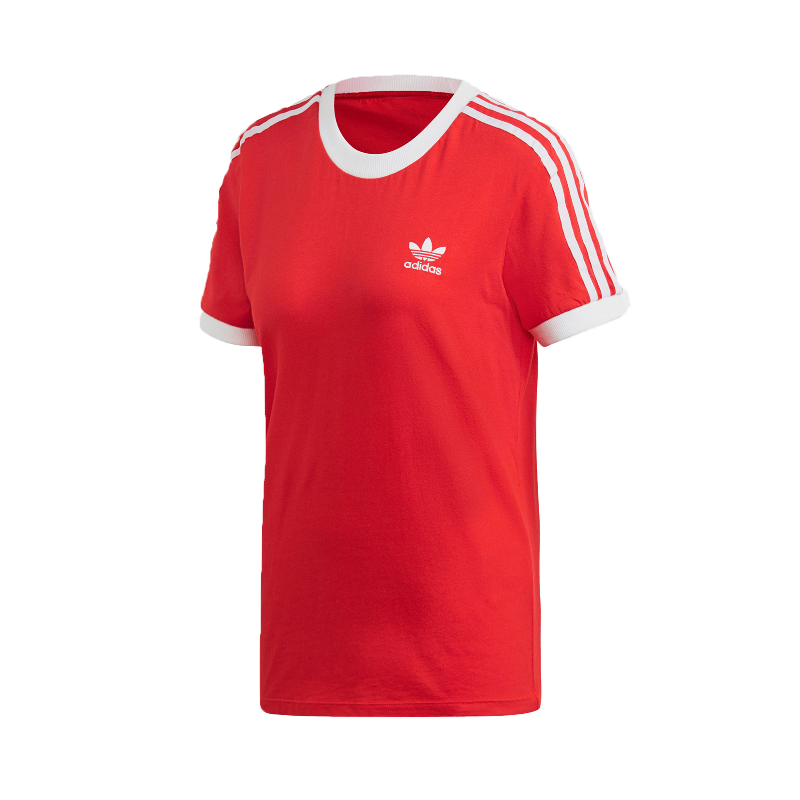 Adidas Originals 3-Stripes W Tee T-Shirt Red