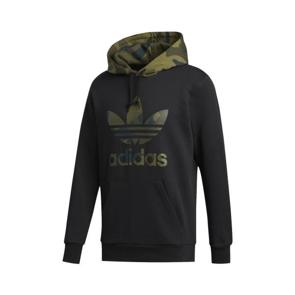 Adidas Originals Camouflage Trefoil Hoodie Black