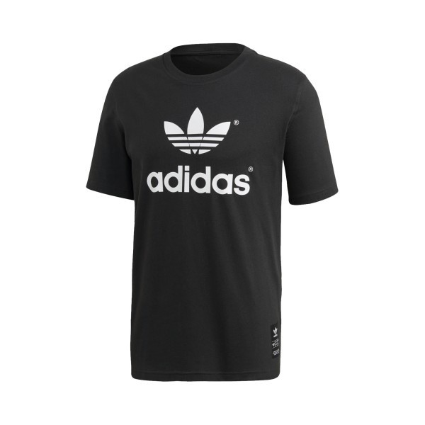 Adidas Originals Trefoil History 72 Tee M Black