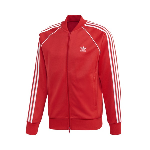 Adidas Originals Superstar Track Jacket Red