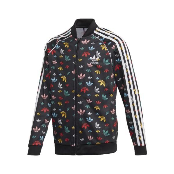 Adidas Originals Superstar Track Jacket Black- Multicolor