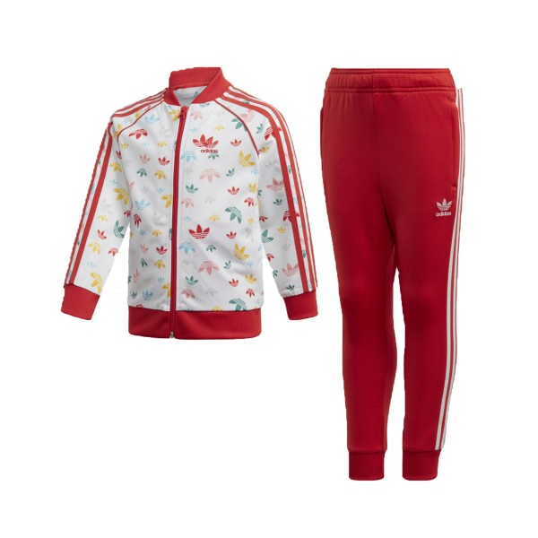 Adidas Originals Sst Set White - Red