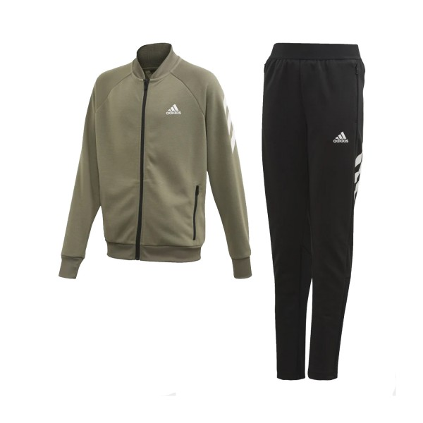 Adidas Hooded Track Suit Legacy Green - Black