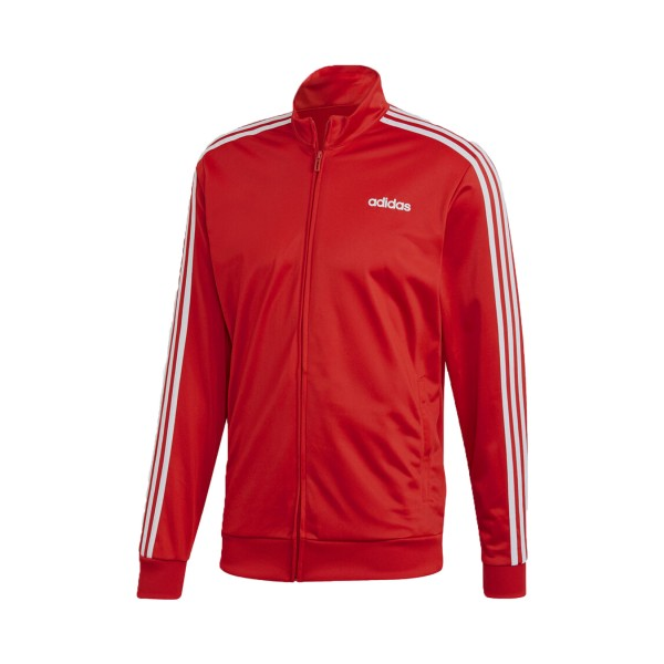 Adidas Essentials 3-Stripes Tricot Red