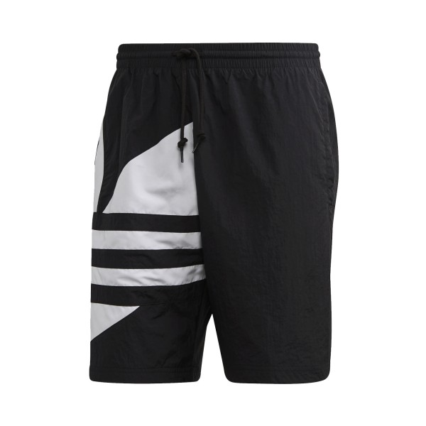 Adidas Originals Big Trefoil Track Shorts Black
