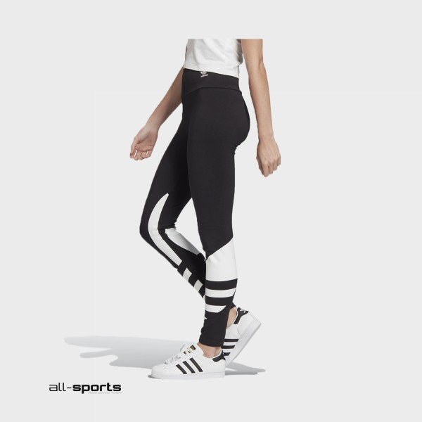Adidas Performance Large Logo Tights Black