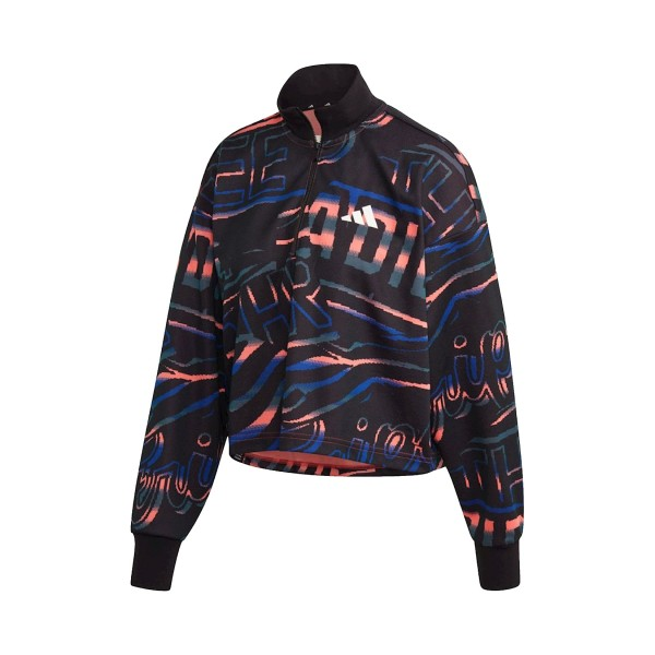 Adidas Performance Urban Halfzip Black - Multicolor
