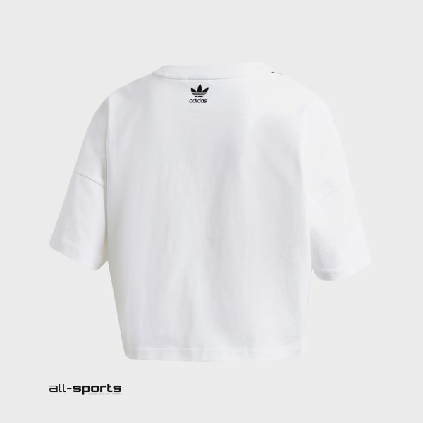 Adidas Originals Large Logo Tee White