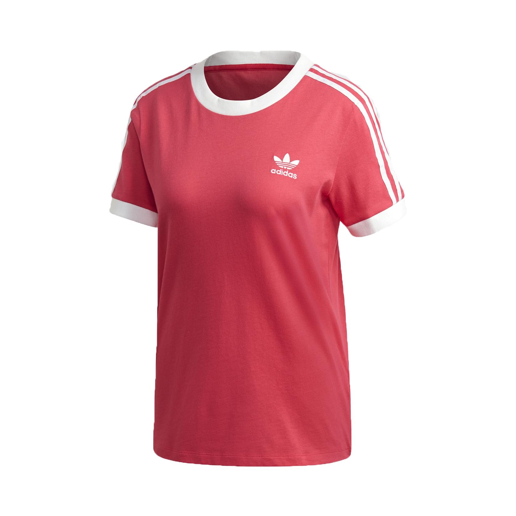 Adidas Originals 3-Stripes Tee T-Shirt Pink