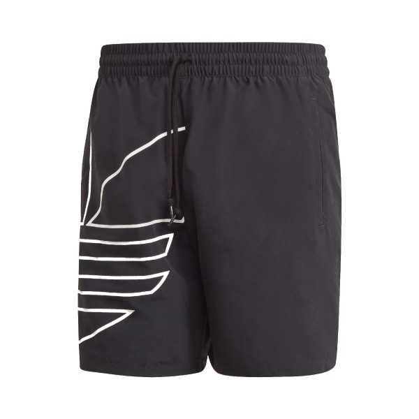 Adidas Originals Big Trefoil Swim Shorts Black