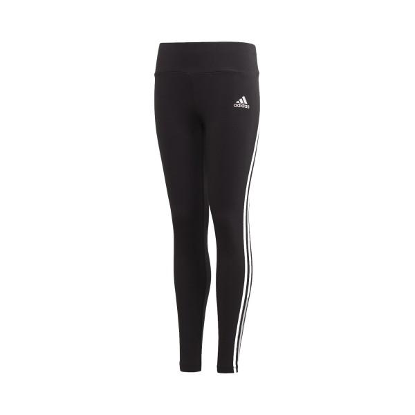 Adidas Lifestyle 3 Stripes Cotton Εφηβικο Κολαν Μαυρο