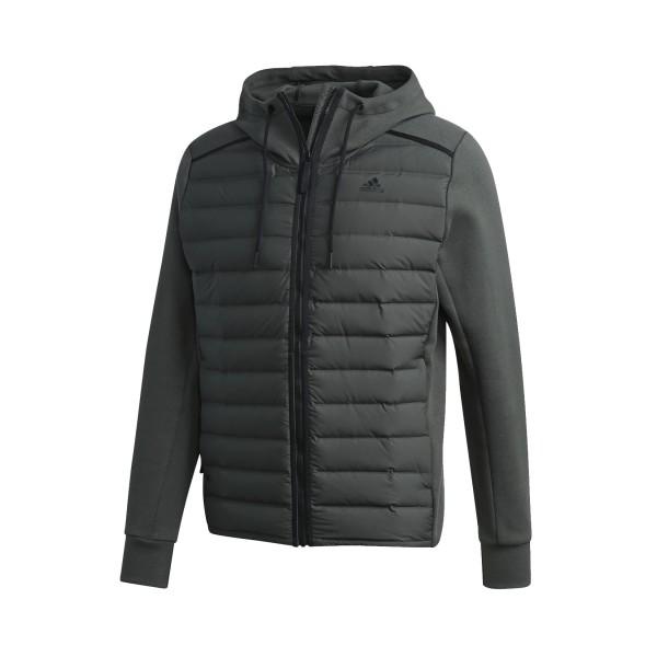 Adidas Essentials Varilite Hybrid Jacket Olive