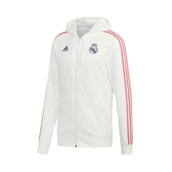 Adidas Real Madrid 3-Stripes White