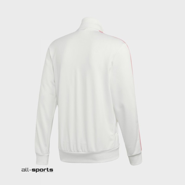 Adidas Real Madrid 3-Stripes Track Top White