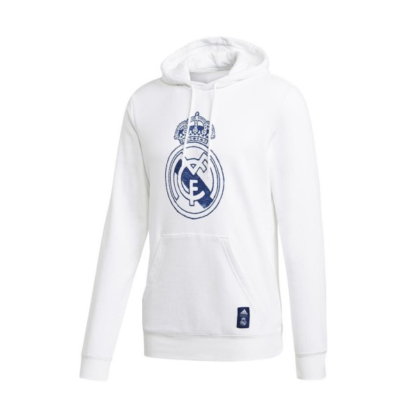 Adidas Real Madrid Dna Hoodie White