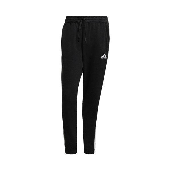 Adidas Essentials 3 Stripes Tapered Elasticcuff Black