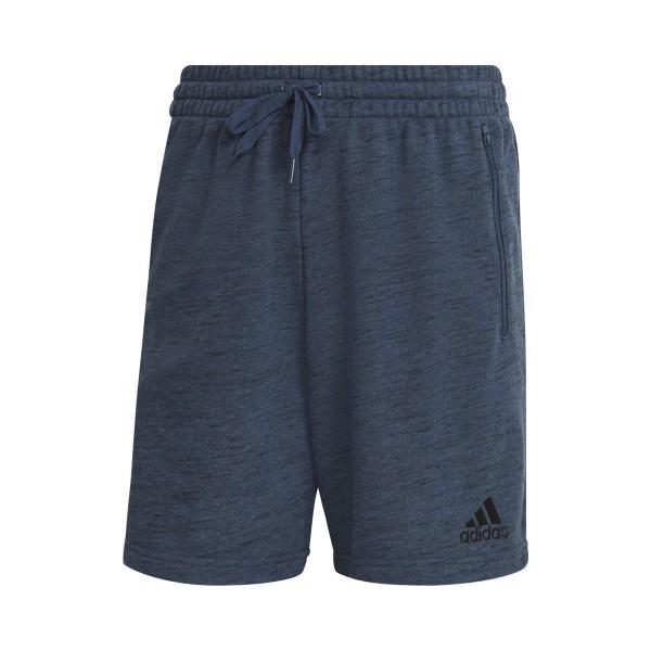Adidas Essentials Melange Shorts Blue