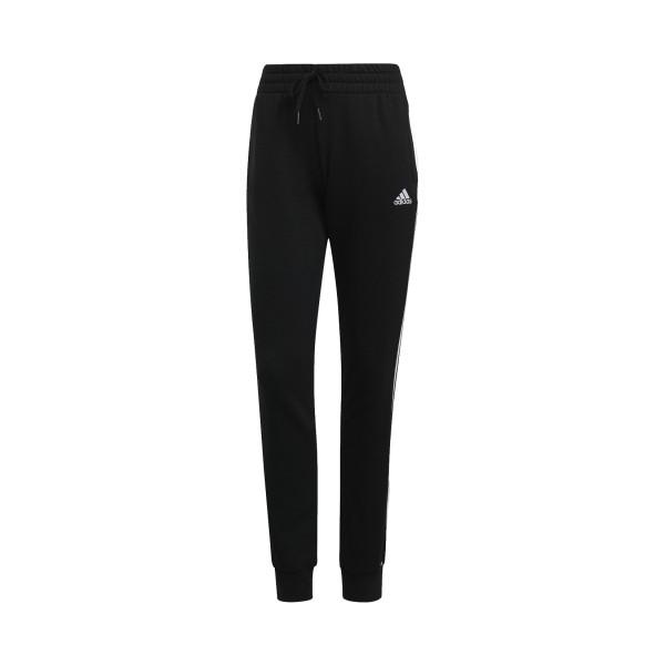 Adidas Essentials French Terry 3-Stripes Γυναικεια Παντελονια Μαυρο