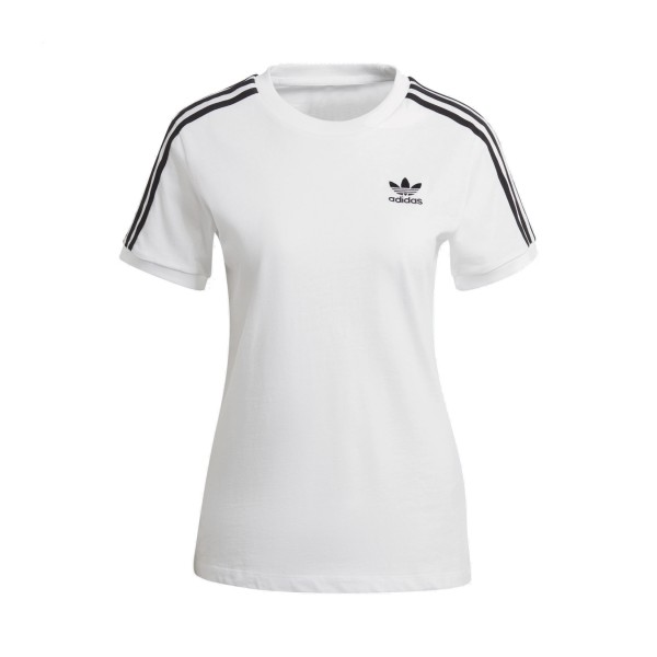 Adidas Originals Adicolor Classic 3-Stripes Tee White