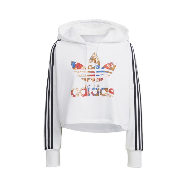 Adidas Originals Her Studio London Boxy Hoodie White