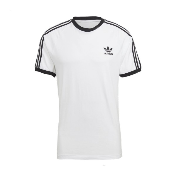 Adidas Originals Classic 3 Stripes Tee White