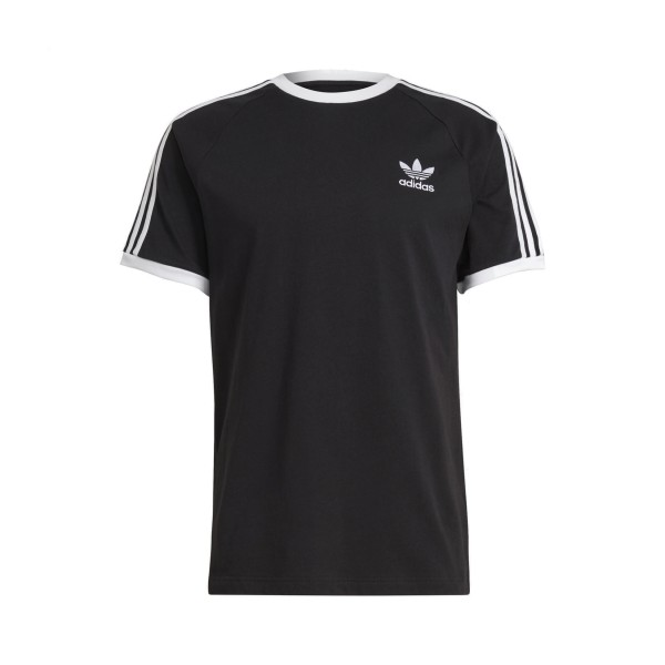 Adidas Originals Classic 3 Stripes Tee Black