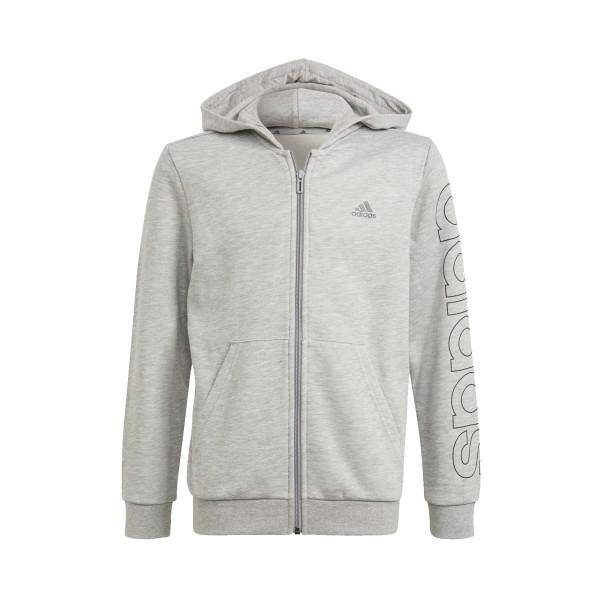 Adidas Full Zip B Lin Junior Grey