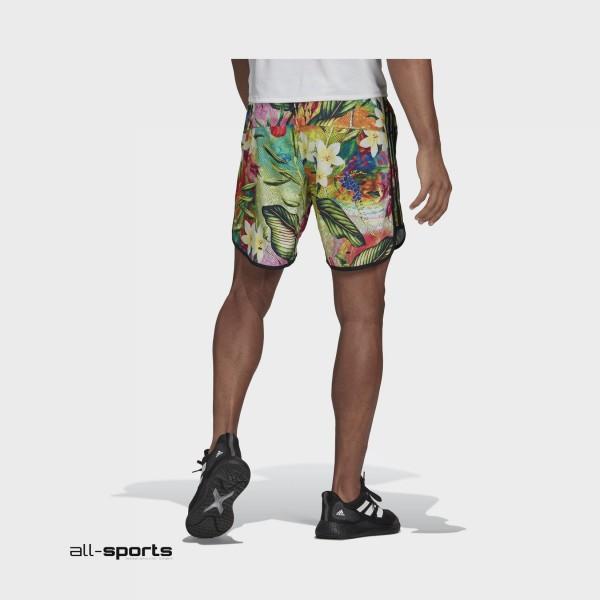 Adidas M20 Floral Shorts Multicolor