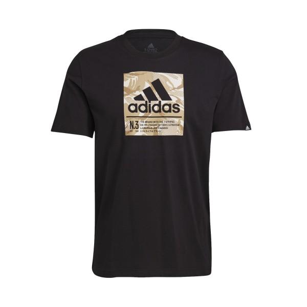 Adidas Camo Box Graphic Tee Black