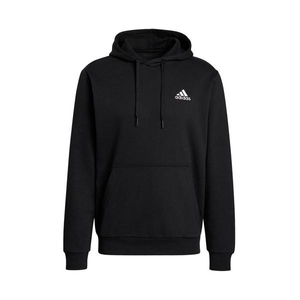 Adidas Essentials Fleece Ανδρικο Φουτερ Μαυρο