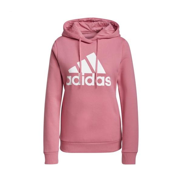 Adidas Loungewear Essentials Logo Φουτερ Ροζ