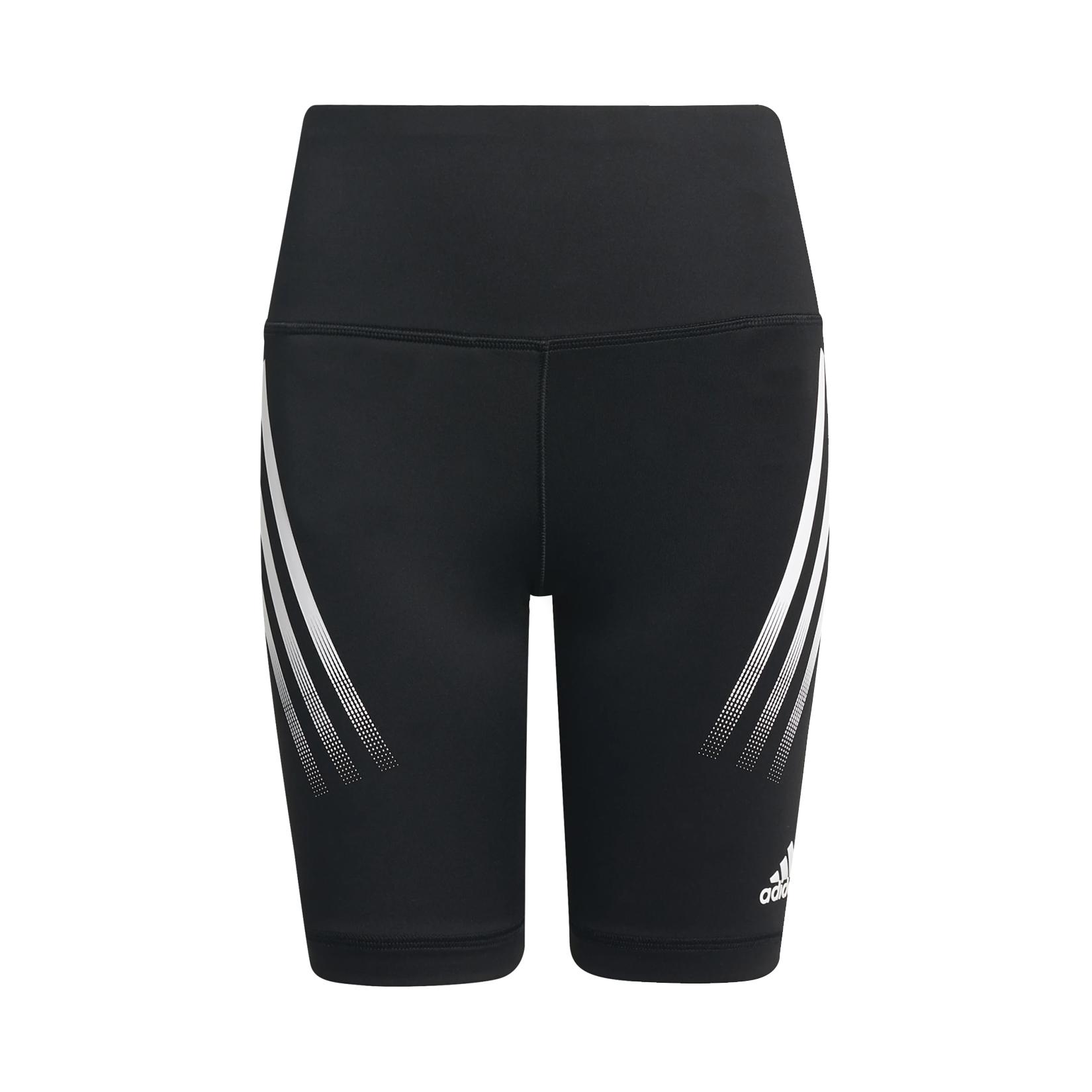Adidas Believe This Aeroready 3-Stripes High-Rise Black