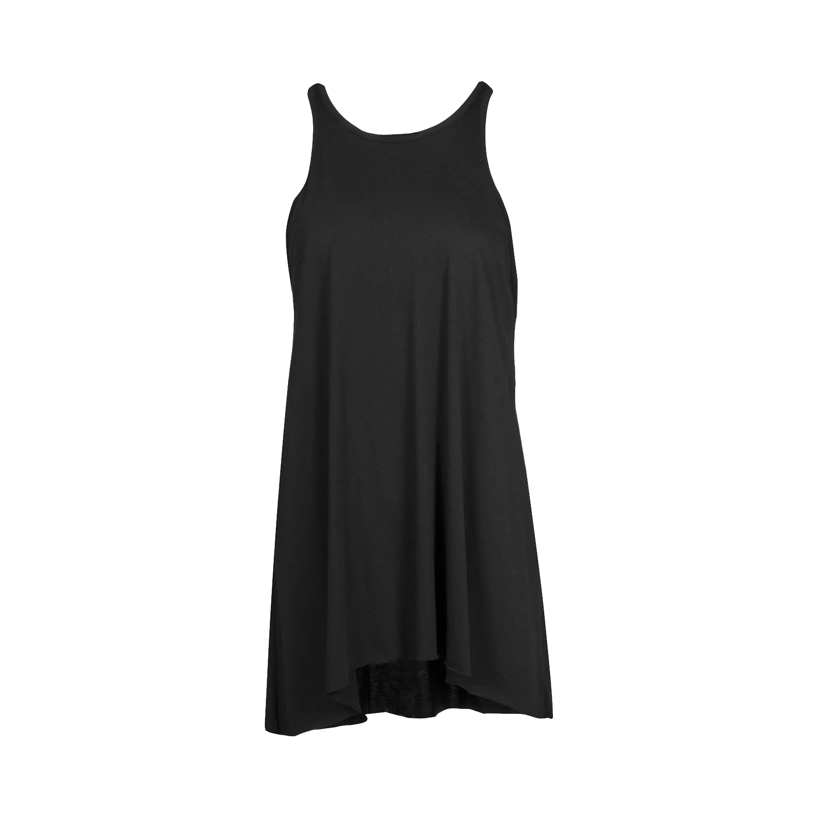 BodyTalk Loose Long T-shirt  Sleeveless Black