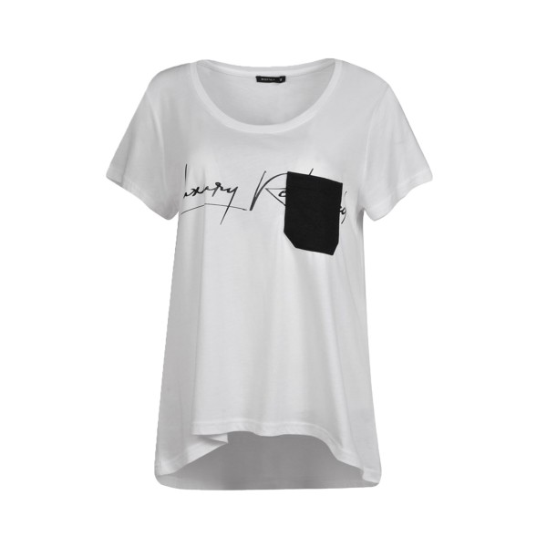 Body Talk T-Shirt Luxury Redefined White