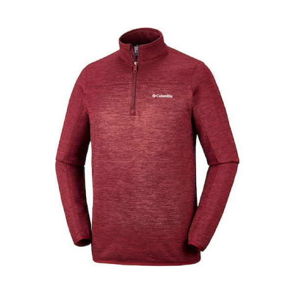 Columbia Birch Woods II Half Zip Fleece Burgundy