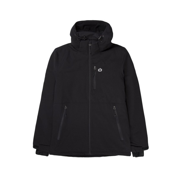 Emerson Hooded Jacket  Black