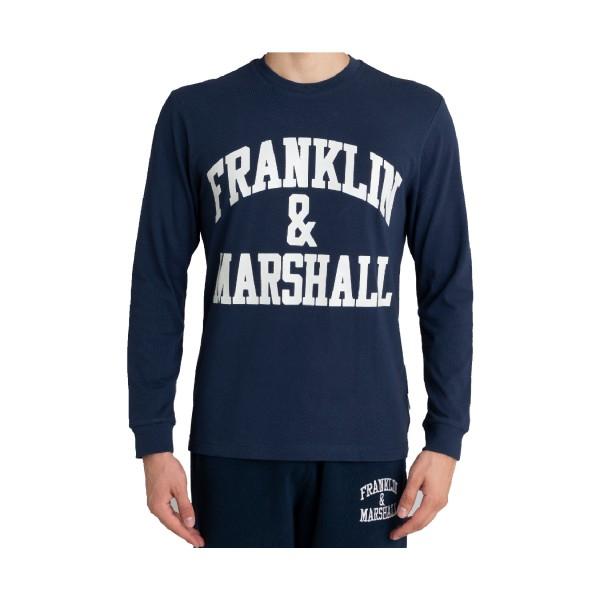 Franklin & Marshall Classic Logo Blue