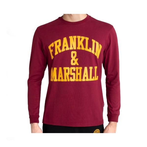 Franklin & Marshall Classic Logo Bordeaux