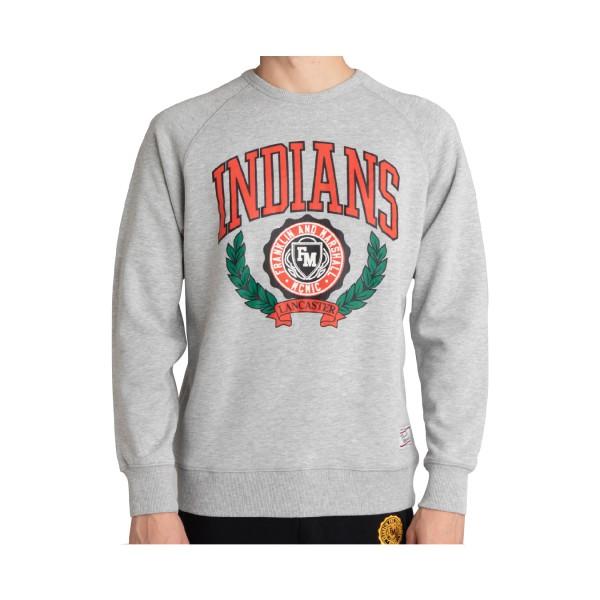 Franklin & Marshall Indians Logo Grey