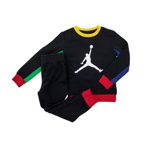 Jordan Legacy Of Sport Crew Kids Black