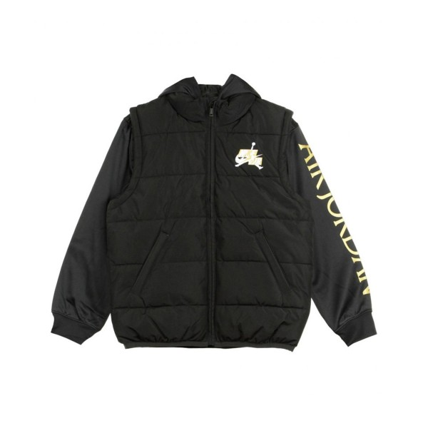 Jordan Jumpman Classic 2Fer Kids Jacket  Black