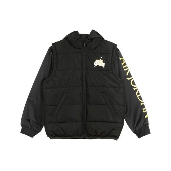 Jordan Jumpman Classic 2Fer Kids Jacket Μαυρο