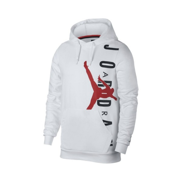 Jordan Jumpman Air Lightweight Fleece Pullover White