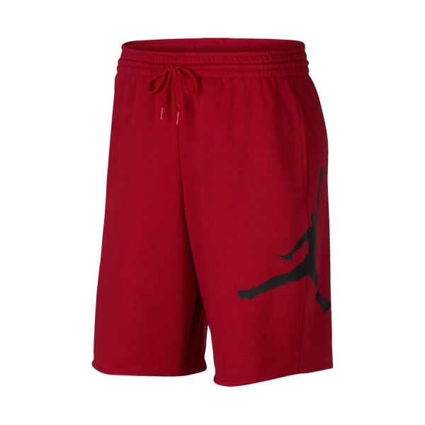 Jordan Sportswear Jumpman Fleece Short Red