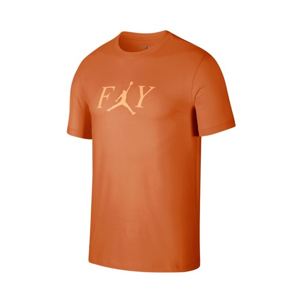 Jordan Fly T-Shirt Orange Trance