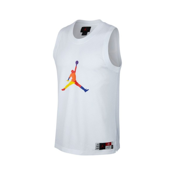 Jordan DNA Men's Jersey Sleeveless White